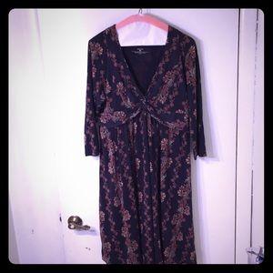 Patagonia dress long sleeve dress L